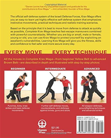principles based for self defense and maybe books complete krav maga the ultimate guide to 230 self