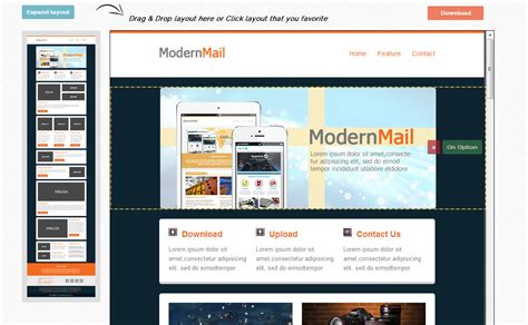 mailchimp templates responsive 60 best free and premium email newsletter templates 20
