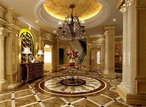 wood walls in luxury villa living room interior design