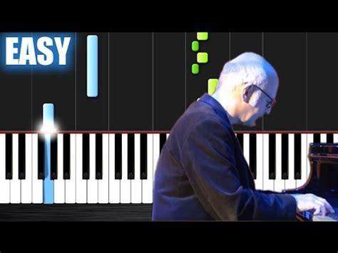 tutorial piano i giorni ludovico einaudi i giorni easy piano tutorial by