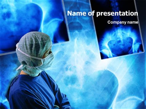 templates powerpoint surgery traumatic surgery presentation template for powerpoint and