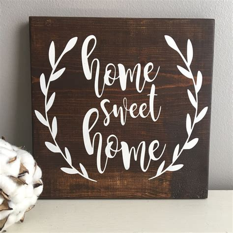 sweet home decor home sweet home sign rustic wood sign home sweet home