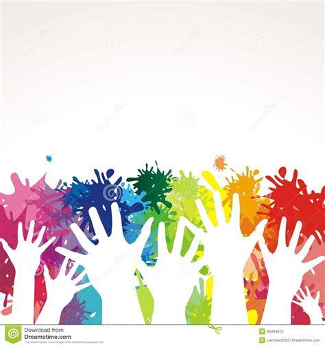 imagenes de uñas pintadas manos manos pintadas coloridas ilustraci 243 n del vector imagen