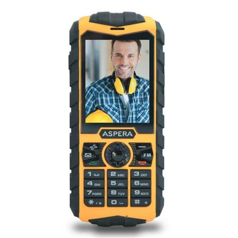 Rugged 3g Phone by Aspera R25 3g Rugged Phone Yellow Unlocked Ebay