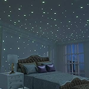 glowing stars for bedroom amazon com glow star kid bedroom wall stickers 225 pcs