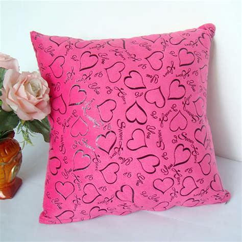 couch pillow cases luxury floral cushion heart shape throw pillow cases