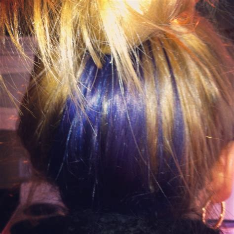 is streaking still popular on hair 1000 ideas about blue hair streaks on pinterest hair