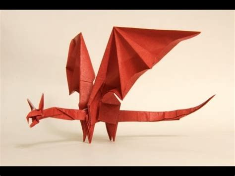 Easy Origami Dragons - and easy origami 2016