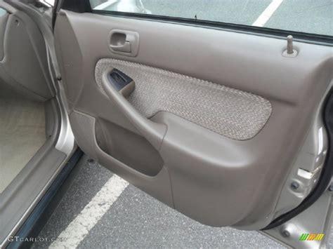 service manual repair 2000 honda civic door panel buy 65 2000 honda civic front trim liner
