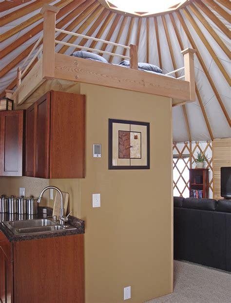 Yurt Interior Floor Plans by Yurt Interiors Pacific Yurts
