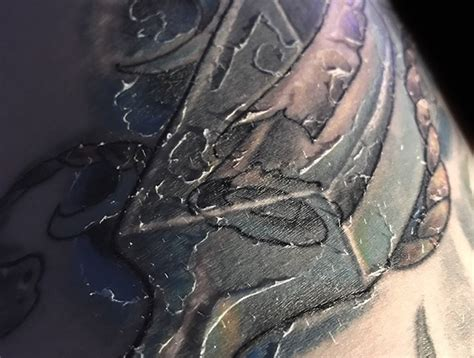 do tattoos peel what to do when peels the peeling and healing process