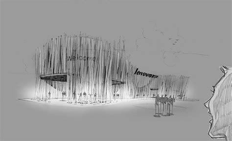pavilion concept lenovo pavilion concept on behance
