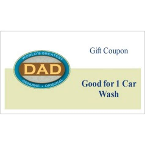 templates father s day gift coupons business cards 10