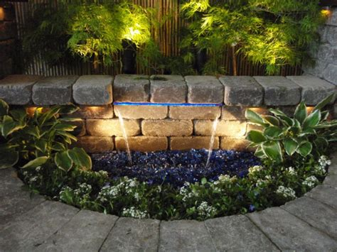 How To Create A Beautiful Backyard Going With The Flow Backyard Waterfalls Add Beauty And A