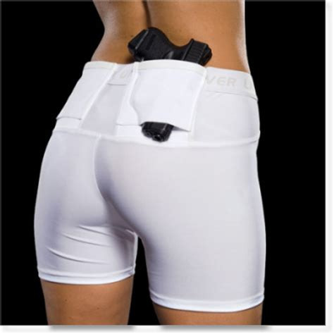most comfortable compression shorts concealed carry holsters for woman