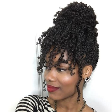 afro american twist hairstyles with bangs 50 outgoing kinky twists ideas for african american women