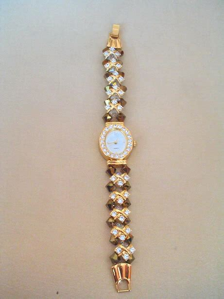 Jam Tangan Swarovski 879 Gold jam tangan swarovksi kayaman s accessories