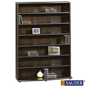 it is bookcases and dvd storage on