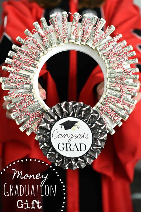 Graduation Gifts graduation money gifts graduation money wreath squared