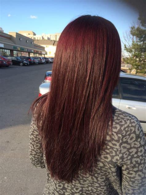 how to dye hair mahogany over the counter red mahogany hair color hair skin nails pinterest my