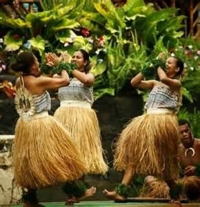 fijian women performing traditional dances pacific