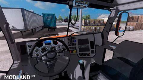 mack pinnacle  mod  american truck simulator ats
