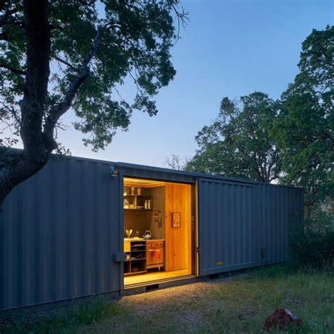 Cargo Container Cabin by The Grid Shipping Container Cabin Dwell Boxes
