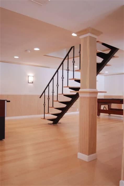 basement column wraps basement columns carpentry contractor talk