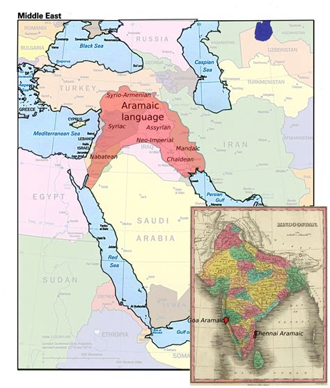 middle east map languages map thread ix page 26 alternate history discussion board