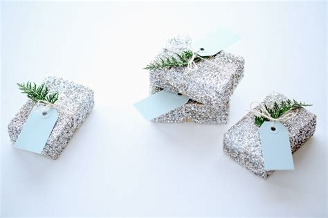 How To Make Glitter Stay On Paper - for the makers diy glitter gift box tutorial stylecaster