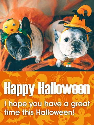 great time happy halloween card birthday greeting cards  davia