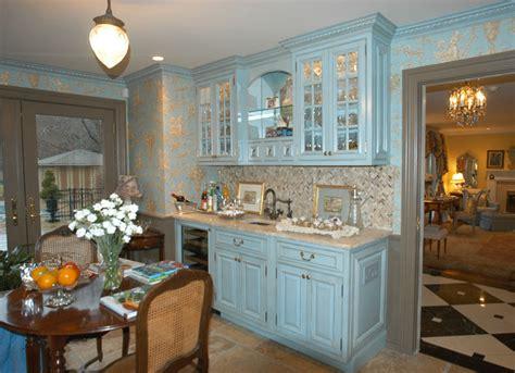 kitchen bath cabinets artisan kitchen bath llc french blue kitchen traditional kitchen new york