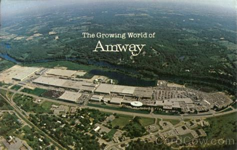 Michigan Address Lookup Amway World Headquarters Ada Mi Postcard