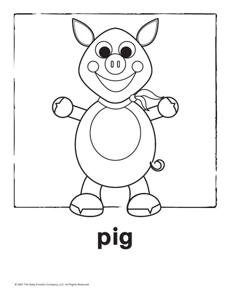 baby einstein colouring pages sketch coloring page