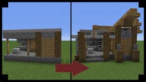 how to update your house minecraft how to upgrade a village blacksmith youtube