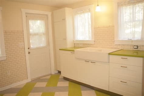 1940 s in law cottage eclectic kitchen ta