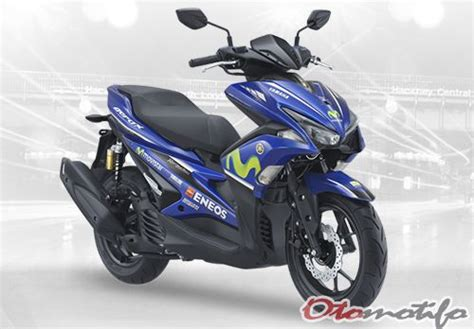 Harga Shockbreaker Aerox by 5 Harga Motor Yamaha Movistar Motogp Terbaru 2018 Otomotifo