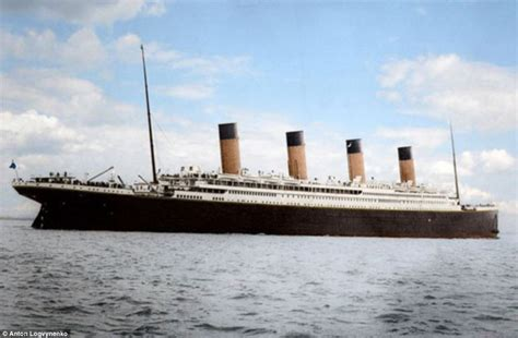 how titanic boat sank inside the titanic ship before it sank