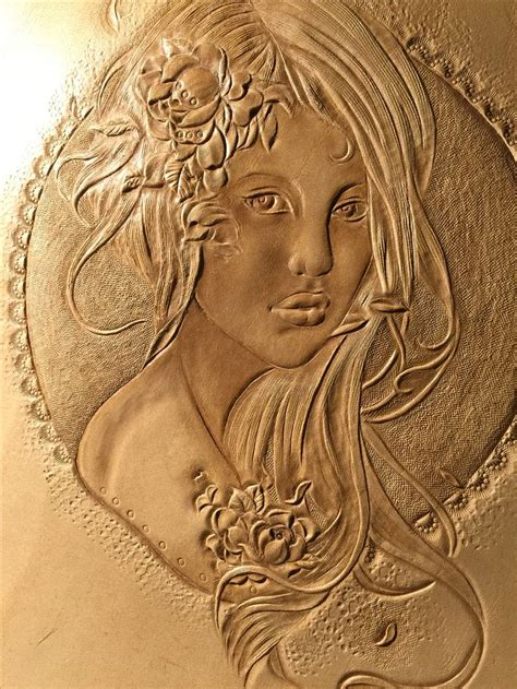 Carving Leather 445 best images on leather carving