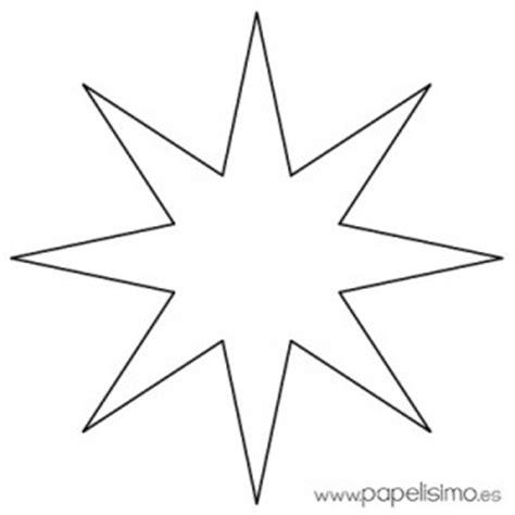 varias imagenes forman una sola plantillas de estrellas para imprimir papelisimo