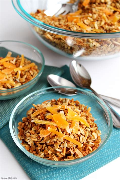 Granola Bites Honey Papaya 150gr tropical coconut granola