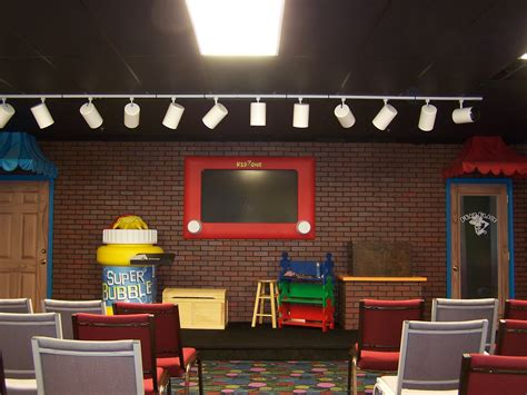 Room Ministries by Childrens Church Stage Set Construction Children S