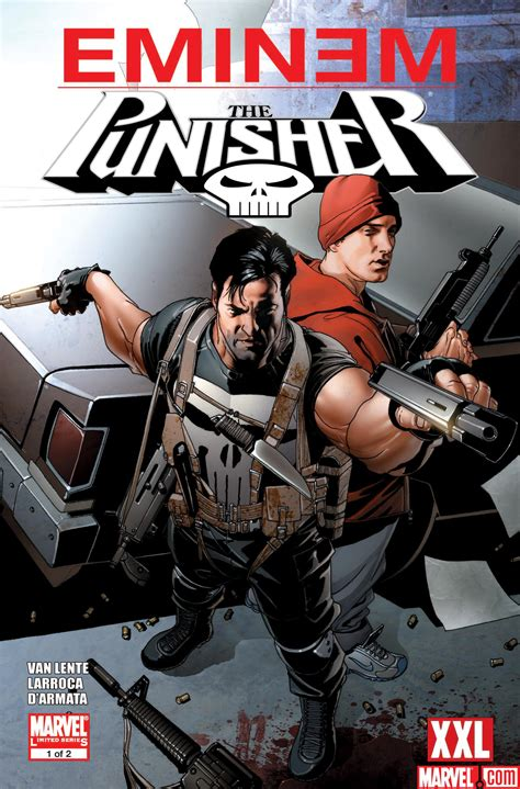 Eminem Punisher | marvel presents special punisher story in collaboration