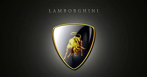 AUTOMOTIVE WALLPAPER: Lamborghini Logo Wallpaper