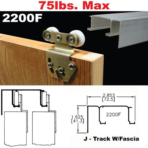 bypass sliding closet door hardware johnson hardware 2200f sliding bypass door hardware