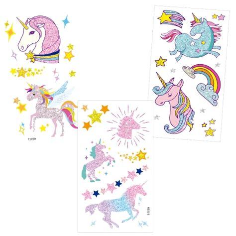 imagenes unicornios infantiles tatuajes temporales para ni 241 os de unicornio tattoo