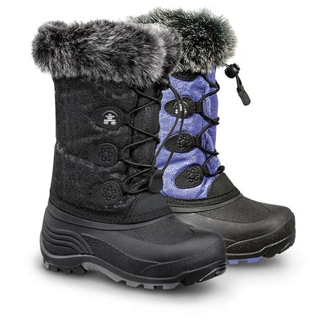 kid snow boots kamik snowgypsy winter boots 609582 winter snow