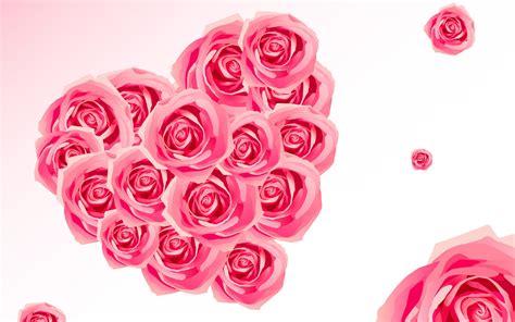 Wallpaper Flower With Heart | love flowers heart wallpaper for desktop