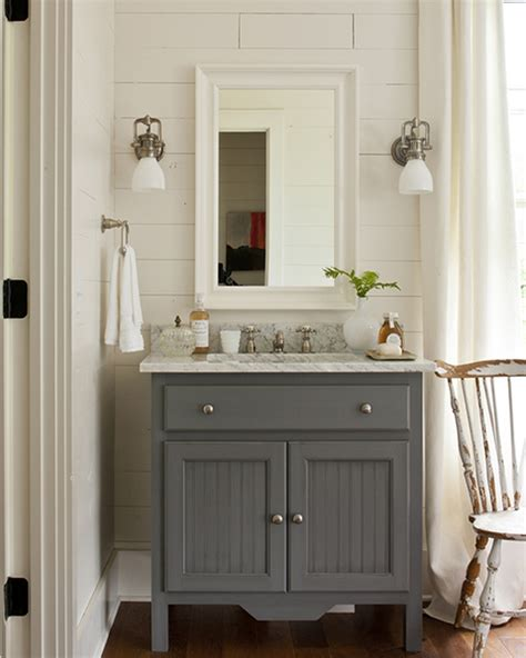 southern living bathrooms gray bathroom vanity cottage bathroom southern living
