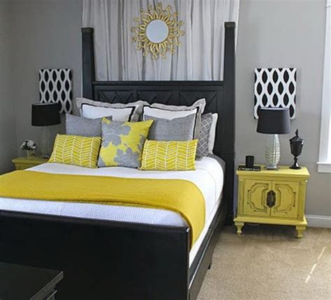 grey blue yellow bedroom extraordinary delightful smart bedroom idea gray grey